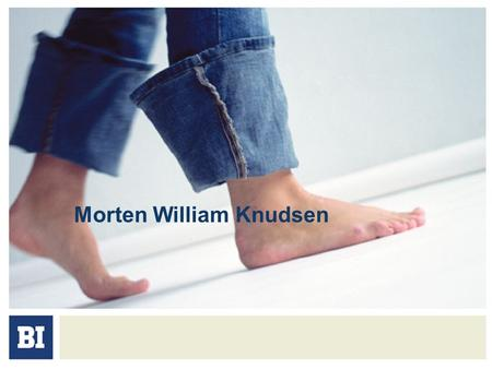 Morten William Knudsen