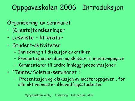 leseliste norsk eksamen