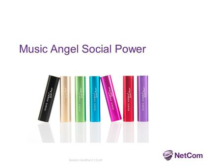 Music Angel Social Power Relation Identifier 0.1 Draft.