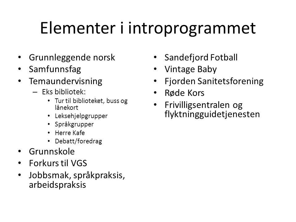 Resultater i introprogrammet Kommune% andel over i arbeid eller utdanning direkte etter avsluttet program 2011 Antall deltakere avsluttet el.