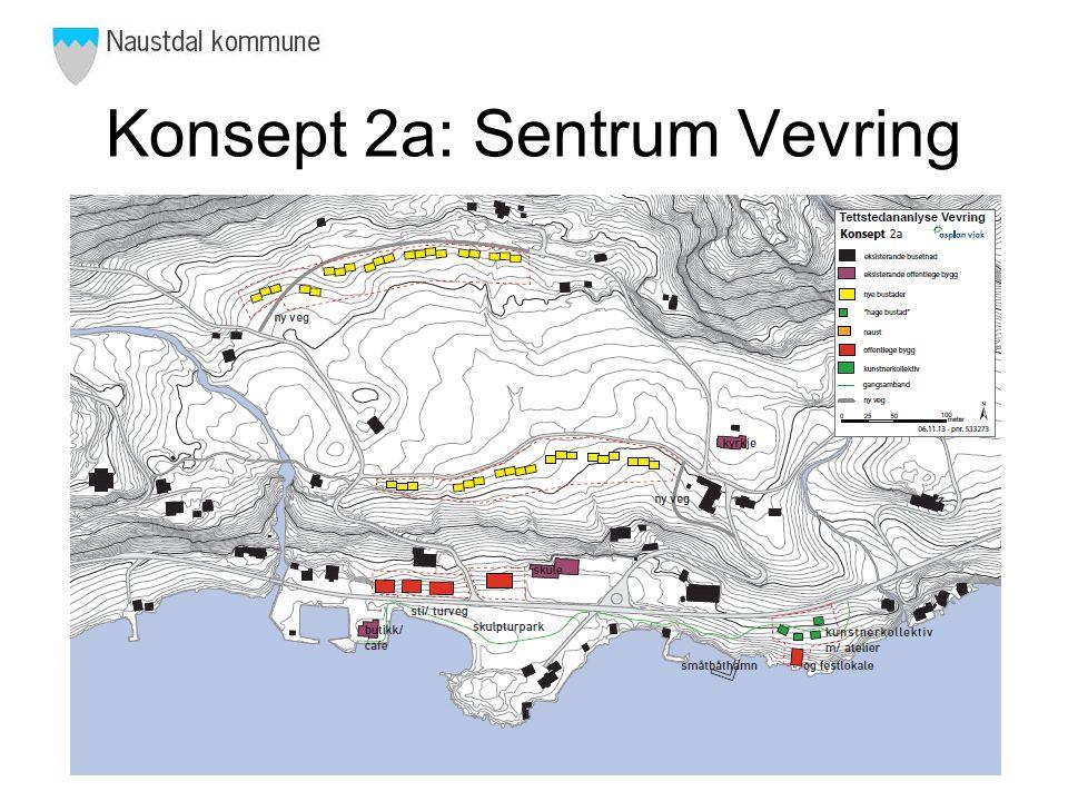 Konsept 2b: Sentrum Vevring