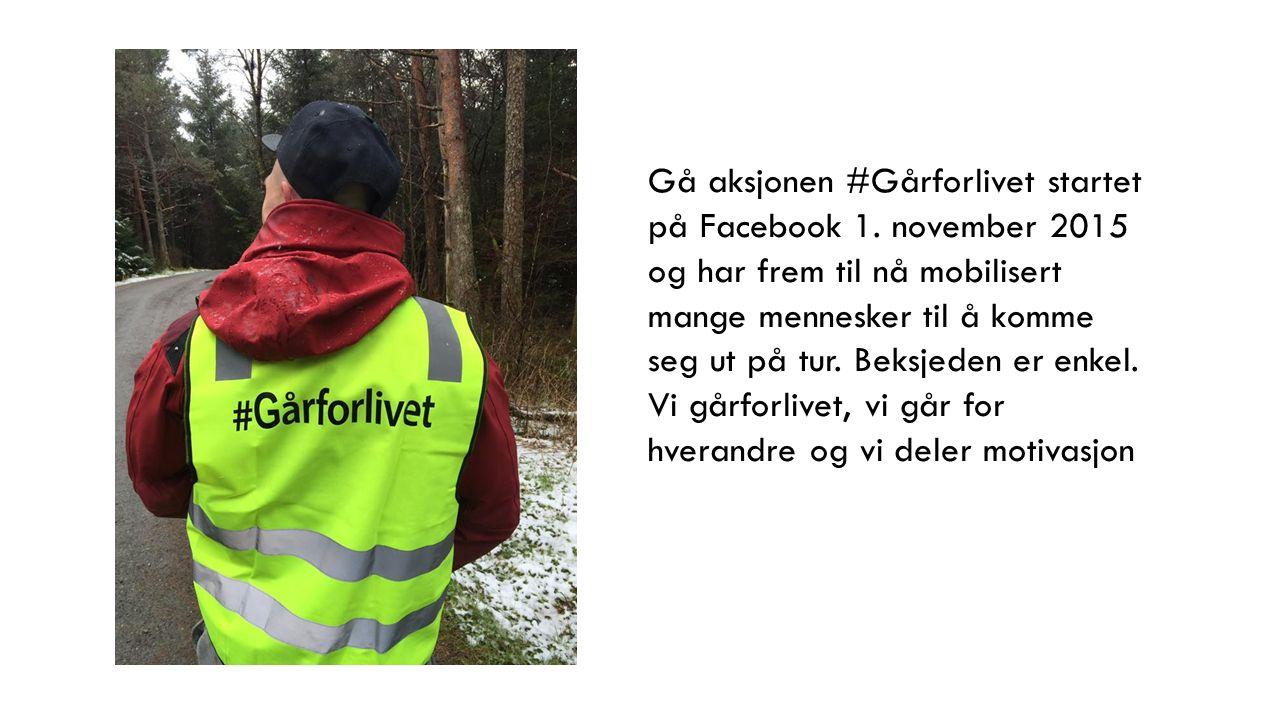 Brukerne tok bilder som de delte med hashtaggen #gårforlivet.