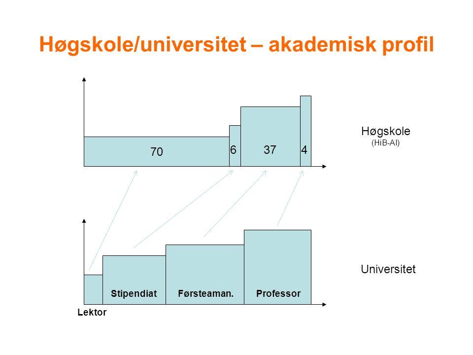 Eksempler på utviklingsområder som er arbeidet med de siste 4-5 årene Profilering av avdelingen Rekruttering av studenter Gjennomstrømningsprosjektet Kompetanseoppbygging Fornyelse av studietilbudet –bachelor og master Forskning, utvikling og nyskaping –Senter for nyskaping Fornyelse av laboratoriene Samhandling