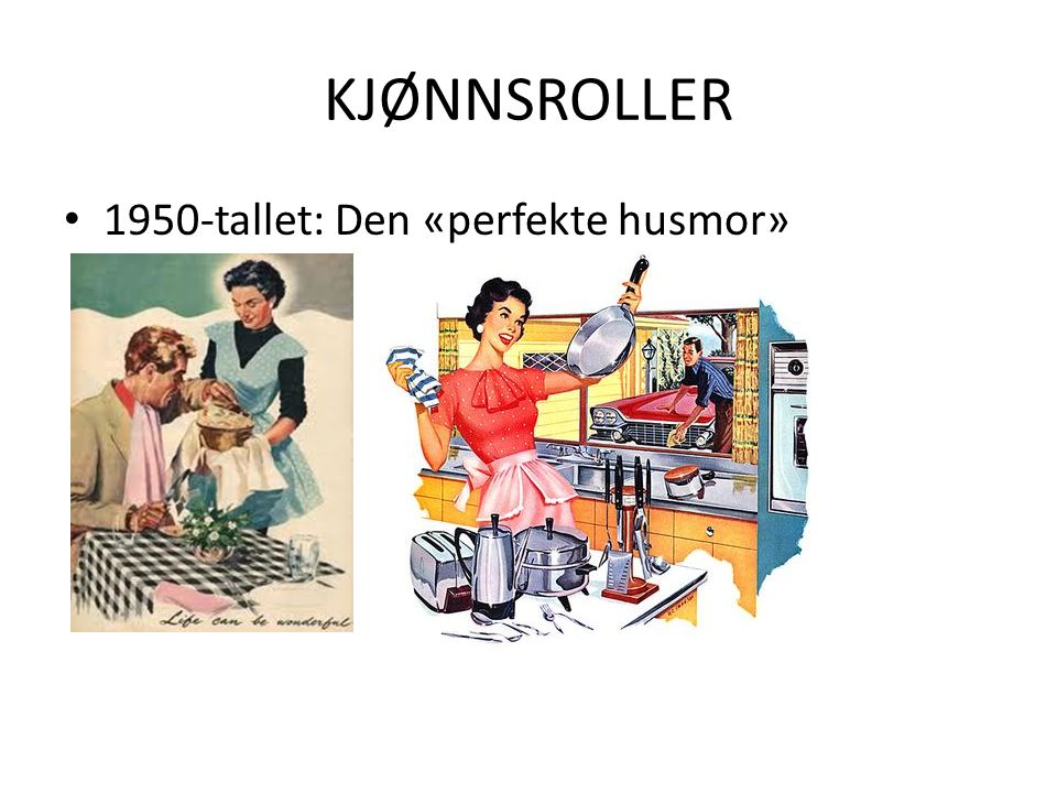 1960-70-tall: Kvinnefrigjøring. Kamp for likestilling: