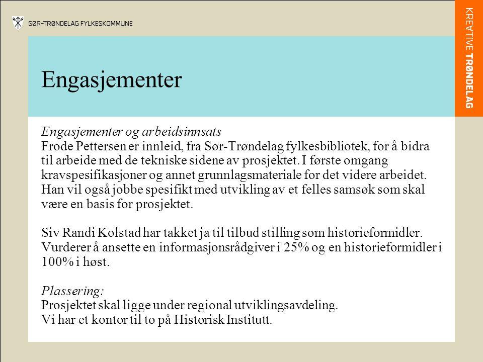Teknologi Tett samarbeid med Kulturnett.no for å finne framtidsretta tekniske løsninger for prosjektet.