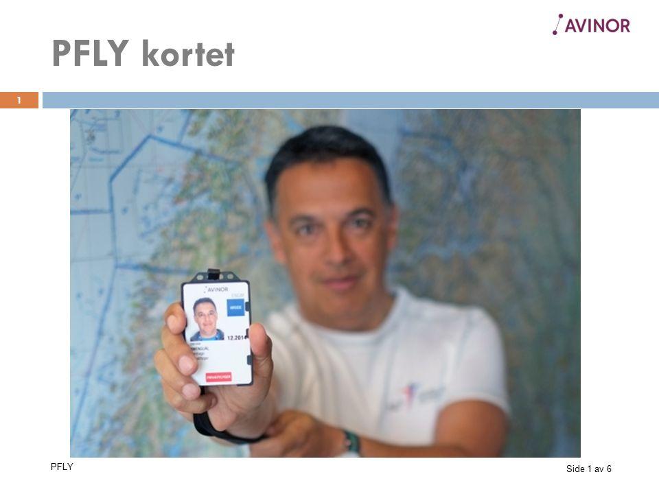 Side 2 av 6 PFLY 2 Krav til mikroflypiloter som søker om PFLY Flytelefonistsertifikat.