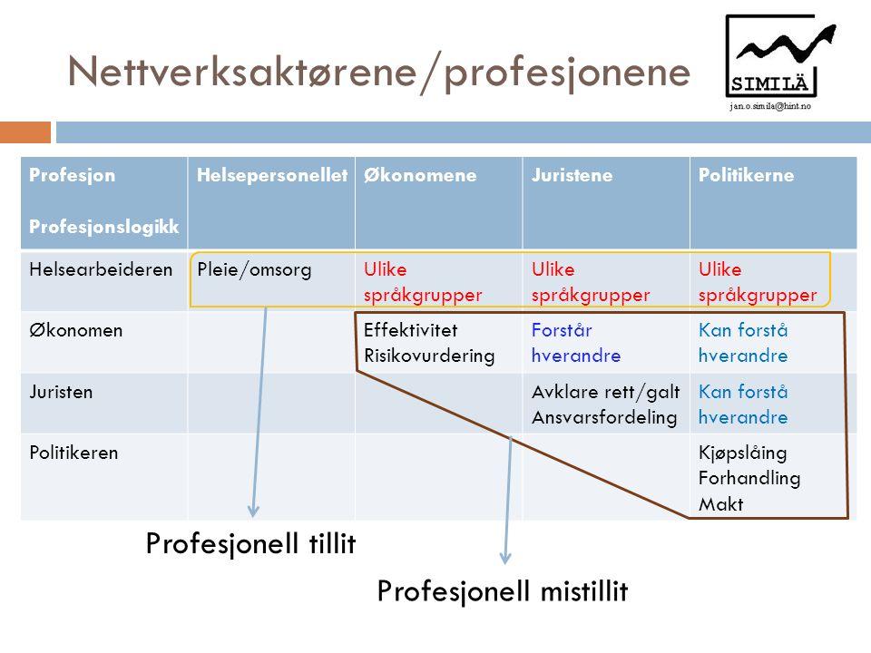 Beskyttelsesstrategier i nettverk