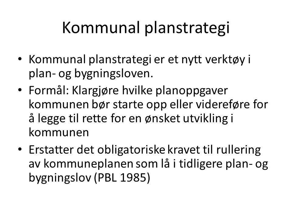 Planstrategien setter et stekt fokus på at planleggingen skal være behovsstyrt og ikke gjøres mer omfattende enn nødvendig.
