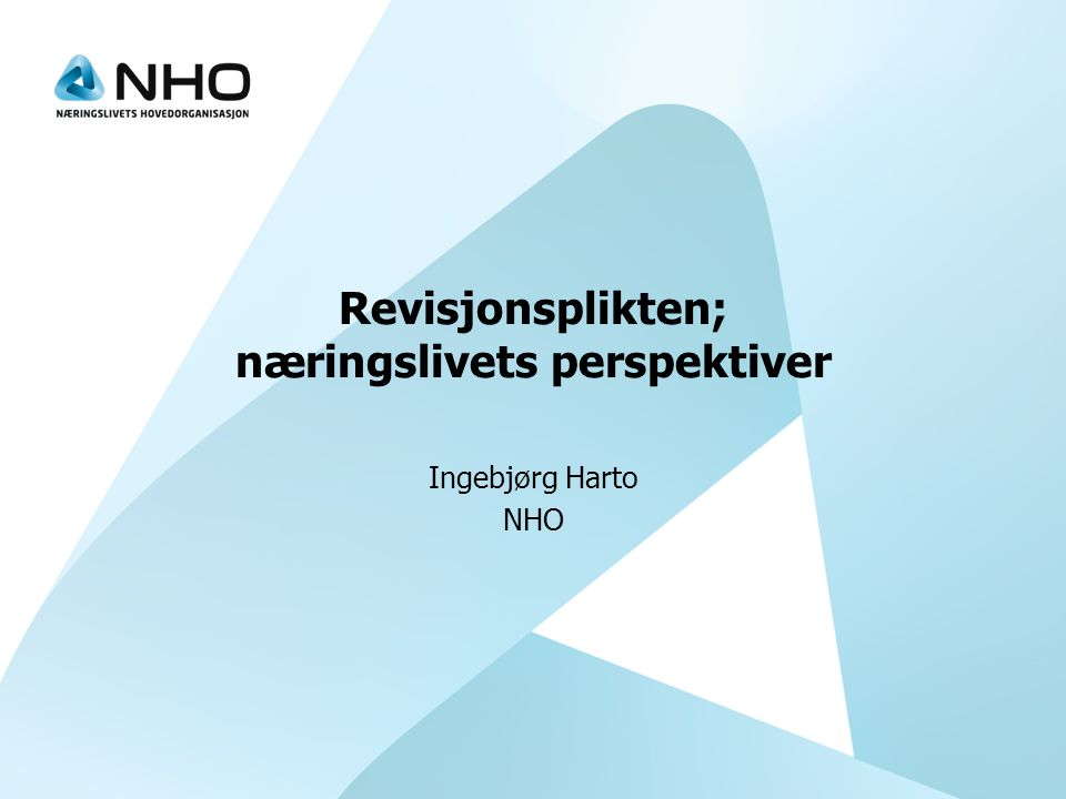 Dette er NHO •Norges største nærings- og arbeidsgiverorganisasjon •19 000 medlemsbedrifter, 488.000 årsverk •75% under 20 ansatte •Organiserer alle bransjer i privat sektor unntatt finans •Arbeider for bedre rammebetingelser for næringslivet •Lønnsforhandlinger og arbeidsgiverservise •20 landsforeninger, 15 regionkontor og Brusselkontor