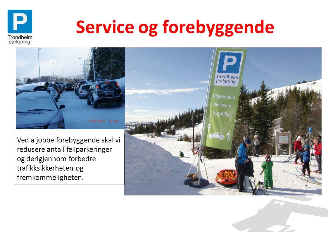 Kvalitet i alle ledd • Kvaliteten på jobben vi gjør kan måles i hvor enkelt vi gjør det for kundene å parkere lovlig og betale rett.