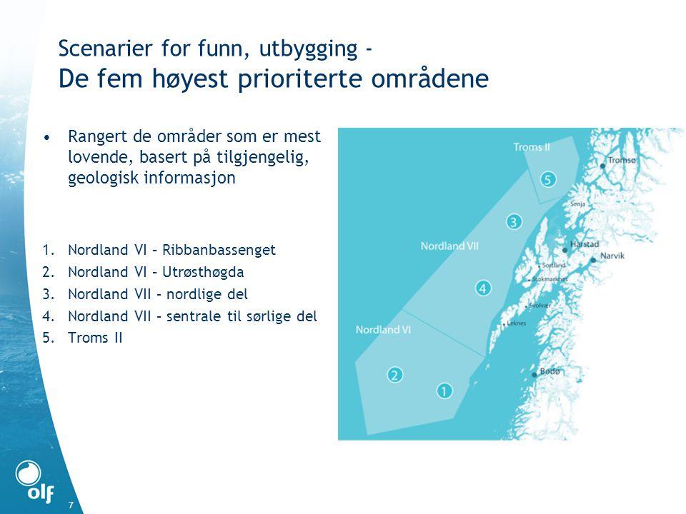 8 Nordland VI, VII og Troms II – Hvor stor kan aktiviteten i bli.