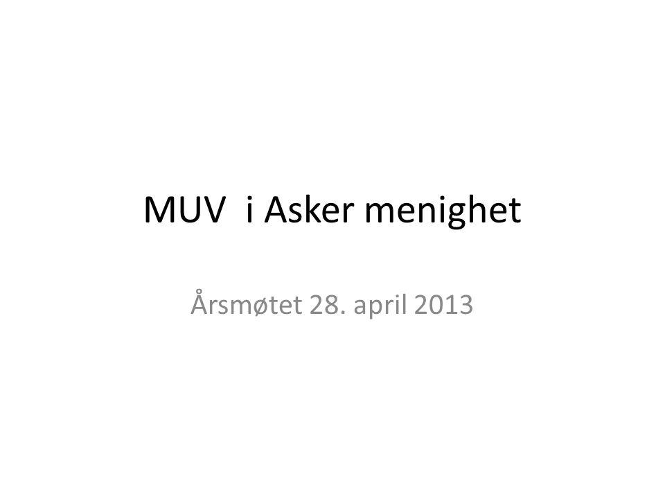 MUV I Asker menighet • 4.