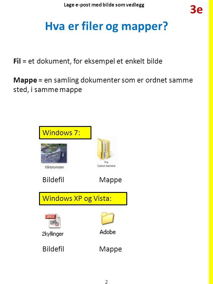 Finne bilder (filer) i Windows 7 Dobbeltklikk først på Biblioteker.