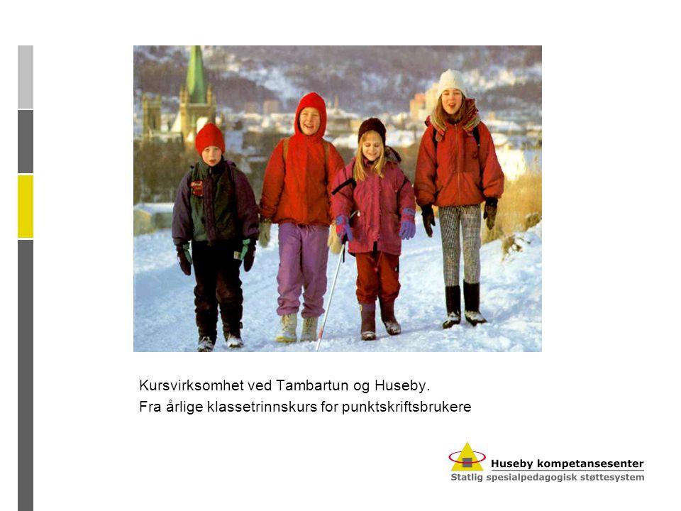 Kursvirksomhet Tambartun og Huseby Sentrene har kurstilbud til: Foreldre/barn, elever og fagpersoner.