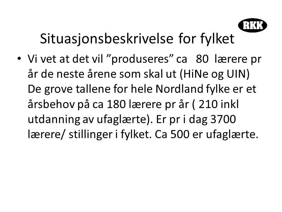 Vestvågøy • Uten å ha lokalkunnskaper kan vi se følgende med utgangspunkt i at det er ca 150 årsverk: • I løpet av 10 år skal det ansettes ca 60 lærere.