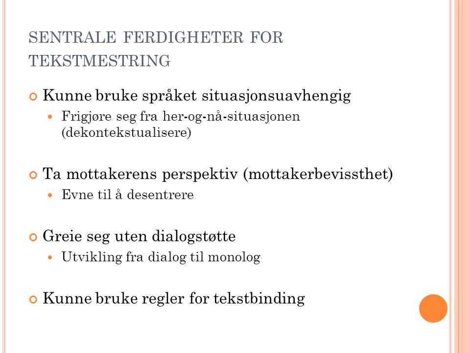 T EKSTBINDINGSREGLER
