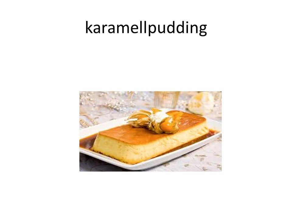 Hvordan lage Karamellpudding Slik gjør du 1.