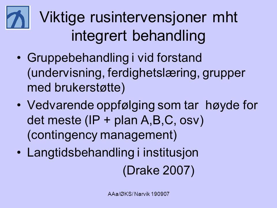 AAa/ØKS/ Narvik 190907 Hva gjør vi i Norge?