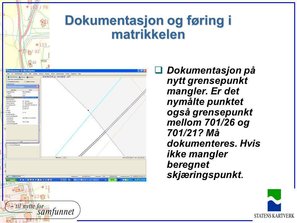 Forbedring av eksisterende grense? 701/119