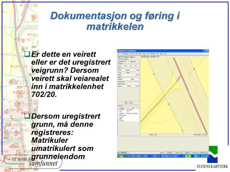Registrering av jordsameie qMå kunne vurdere at det er sannsynlig at dette er jordsameie (i matrikkellovens forstand) qMå kunne vurdere at det er sannsynlig at den som krever jordsameiet registrert har part i sameiet
