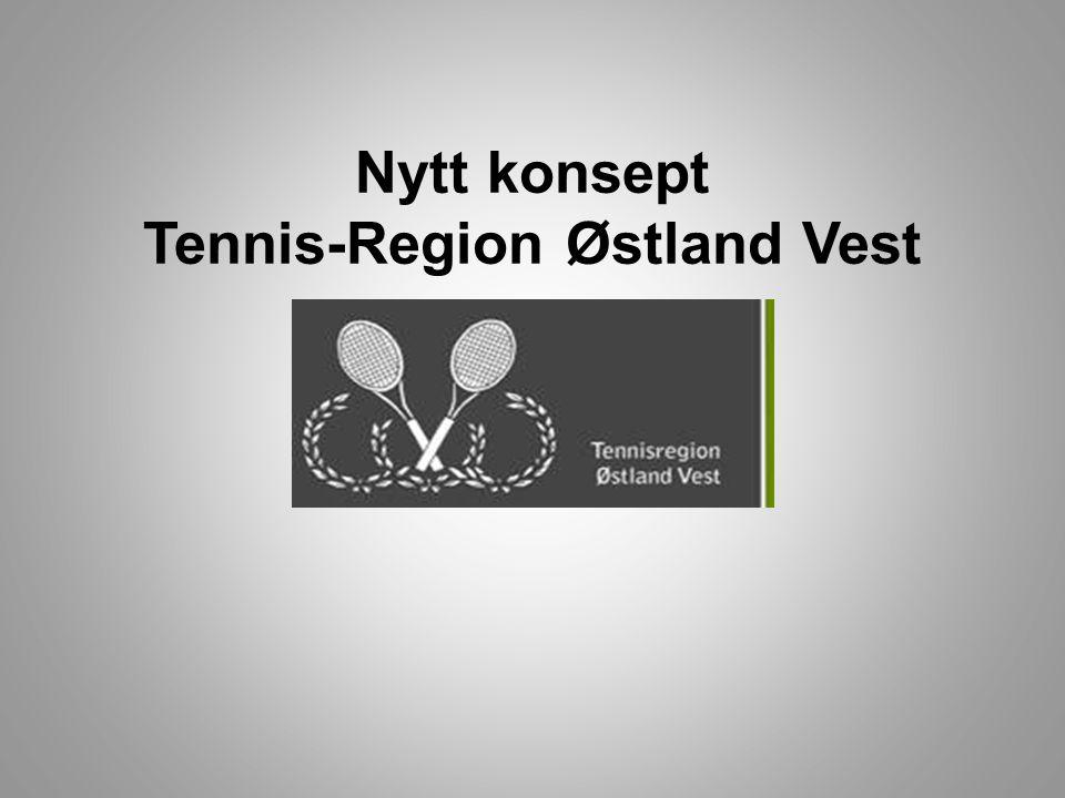 Tennisregion Østland Vest • 15 tennisklubber • Mange dyktige trenere og ledere • Tilstrekkelig kunnskap for å få flere til å spille tennis, lenger og bedre • Inkluderende samarbeid på tvers av klubbgrenser • Nytenkning Sammen skal vi vise at samarbeid gir suksess!
