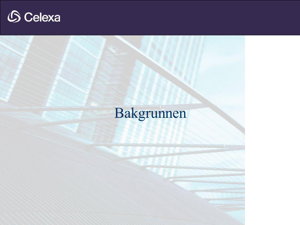 NSB Eiendom •VOLUM OG STRUKTUR Ca 800 000 kvm eiendomsmasse av ulik karakter Ca 1200 bygninger Ca 6000 kontrakter Organisert i Arkitekt, Renhold, Forvaltning, Utvikling •KULTURELLE UTFORDRINGER Organisasjonen uvant med forandringer Må skape bedre kontroll over driftseiendommene Konsernstyring, frykt for endringer i f.
