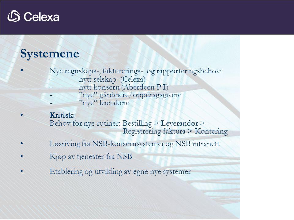 Utfordringene – Forretningsorienteringen • Tidligere egen organisasjon (NSB) er nå kunde(r): Både som eier/avtalepart og som bruker/leietaker.