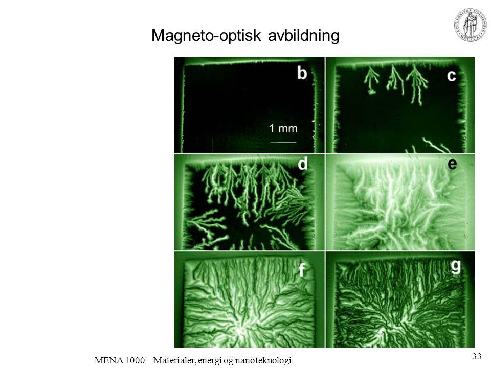Dielektriske egenskaper Elektroner og ioner Bevegelse Men bare lokalt; polarisering MENA 1000 – Materialer, energi og nanoteknologi 34