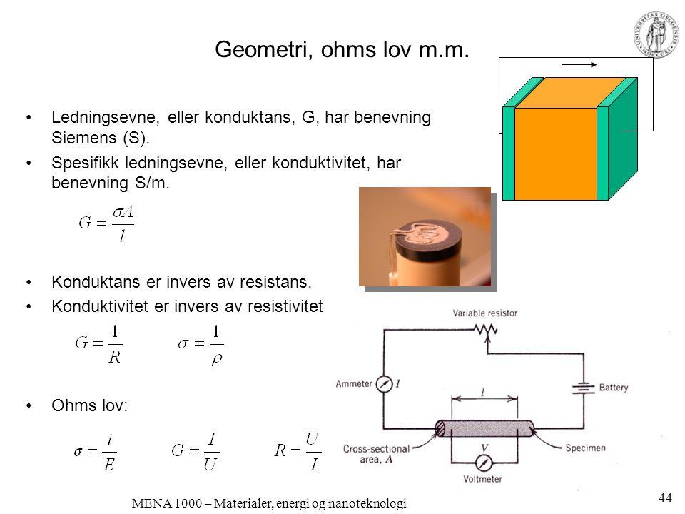 Halvlederkomponenter p-n-overganger •p-leder: elektronhull •n-leder: elektroner •a) n- og p-ledere separat •b) n- og p-ledere i kontakt –Ferminivåene (elektronenes kjemiske potensial) må utlignes •c) fra skarp til jevn overgang; båndene bøyes.