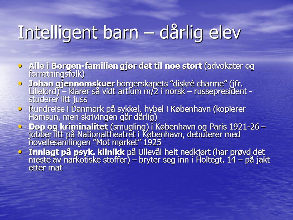 Journalist, kritiker, dramatiker og forfatter – fra høyborgerlig til kommunist • Morgenbladet 1928-30 • Gifter seg 1.