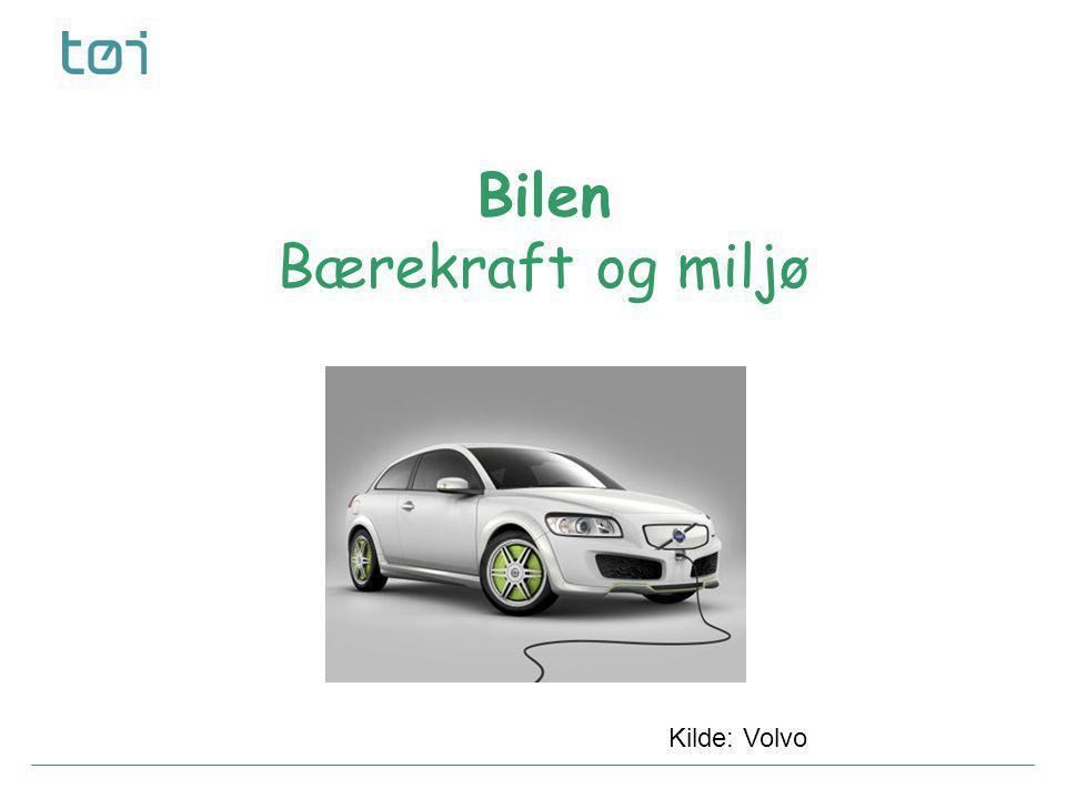 06.07.2014 © Transportøkonomisk institutt – Stiftelsen Norsk senter for samferdselsforskningSide 7 Hvordan ser en bil ut i 2020 eller i 2035.