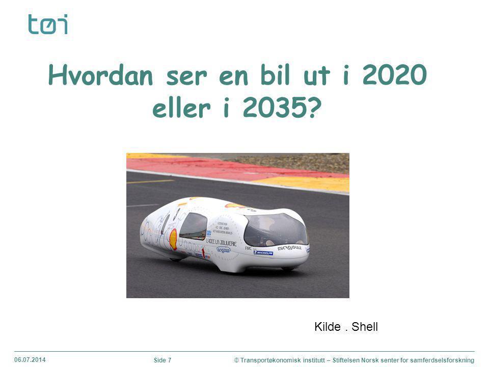 06.07.2014 © Transportøkonomisk institutt – Stiftelsen Norsk senter for samferdselsforskningSide 8 Trafikksikkerhet Utfordringer - tunge kjøretøy og dårlige bilførere