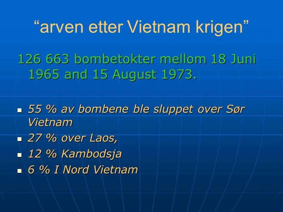 Halvparten av det USA brukte på denne krigen ca 200 milliarder gikk til luftkrig.