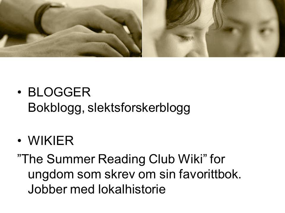 Library worker 2.0 Spør biblioteket – email AskNow (Biblioteksvar) Your Tutor – for studenter Internettlinker i katalogen – mye brukt av studenter Flere selvbetjeningsautomater, mer tid for personalet til andre ting Library Thing i katalogen