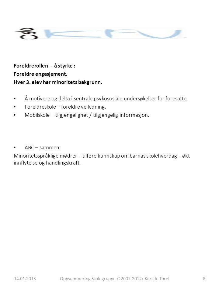 Foreldrearbeidsutvalg (FAU): Hjem – og skolesamarbeid.