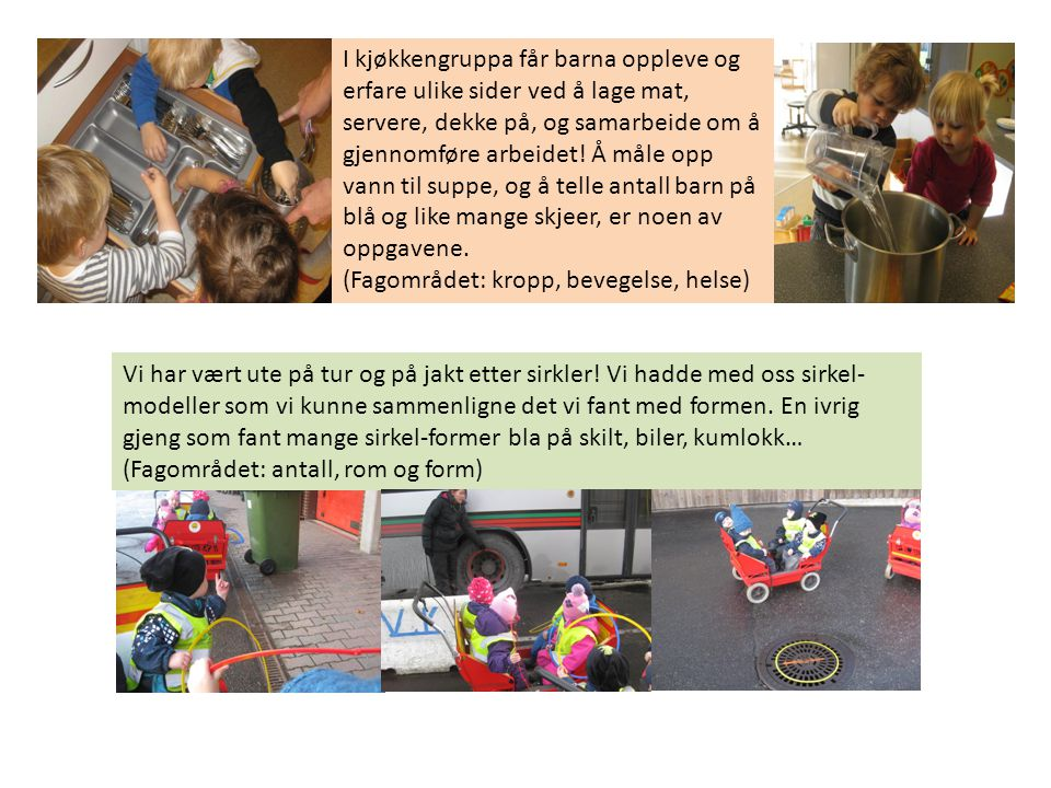 Vi var på teaterforestilling med «boble-teateret».