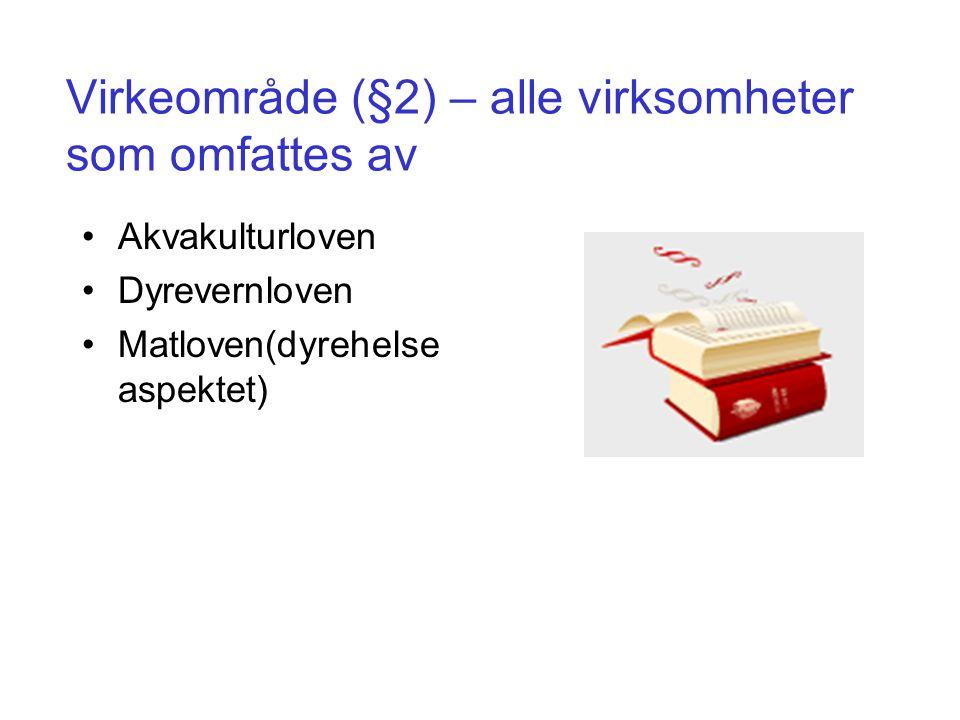IK – Akvakultur gjelder for Virksomhet IK – HMSEgen- kontroll IK – Akvakultur Akvakultur (inkluderer slaktemerder, havbeite og kultivering* XX HavbeiteXX KultiveringX X* Slakteri, avfallsbehandling og tilvirkning XX X* Transport av levende akvatiske dyr XX* NotvaskerierXX* Figuren viser de virksomhetene som blir berørt av IK – Akvakultur, IK – HMS og egenkontroll.
