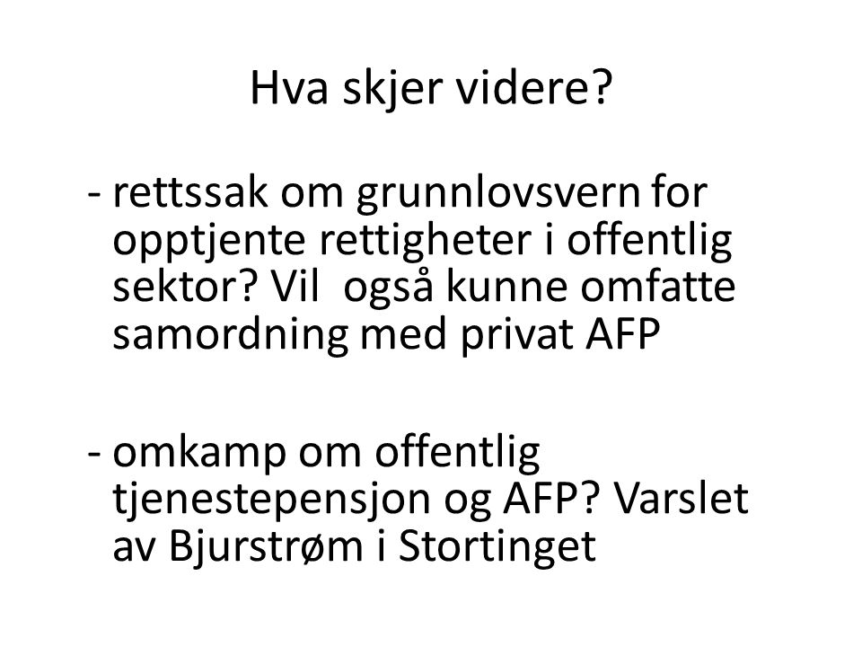Fra stortingsdebatten 14.06.10: Torbjørn Røe Isaksen Litt av årsaken til at vi har fått noen utfordringer i dette systemet, er jo nettopp denne bruttogarantien.