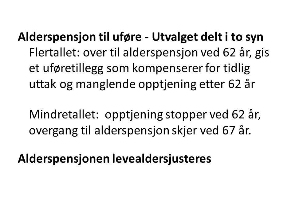 Ny lov om offentlig tjenestepensjon innen 2016 loven fra i sommer gjelder fram til 1953-kullet, dvs.