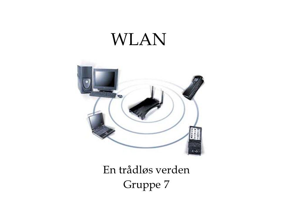 Agenda Hva er WLAN? Hvorfor WLAN? IEEE 802.11 Arkitektur/topologi Fysisk lag MAC - lag