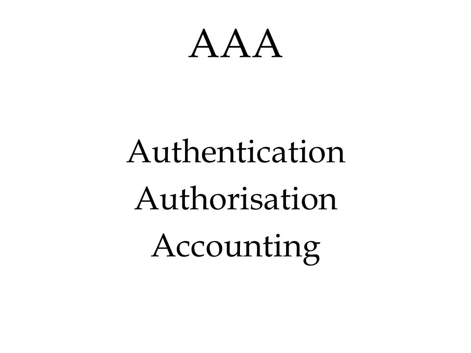 Authentication The essence of an authentication system is discovering and confirming the identity of a person, an organization, a device, or more generally, of any software process in the network.