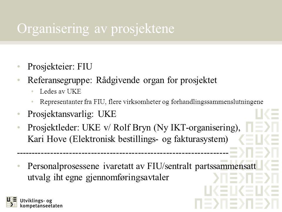 Prosjekt Ny IKT-organisering (1) Avtale om gjennomføring av ny IKT-organisering i Oslo kommune inngått 28.10.2005 Formål: Å sikre en effektiv gjennomføring av byrådets vedtak om ny IKT-organisering Ivareta deltakelse og medvirkning på sentralt nivå i kommunen og sikre utøvelse av medinnflytelse og medbestemmelse lokalt i virksomhetene Sikre de ansatte som omfattes av omorganiseringen en forutsigbar prosess i gjennomføringsfasen Forutsetninger: Likebehandling av berørte ansatte Ingen fristilling av stillinger i virksomhetene