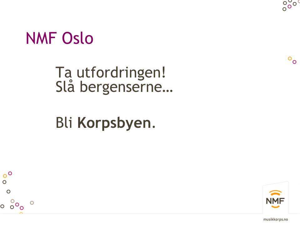 NMF Oslo Korps er inkludering….