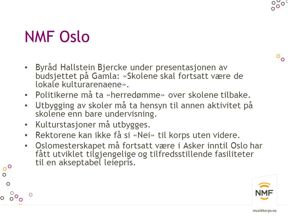 NMF Oslo Korps er en stor konsertprodusent.