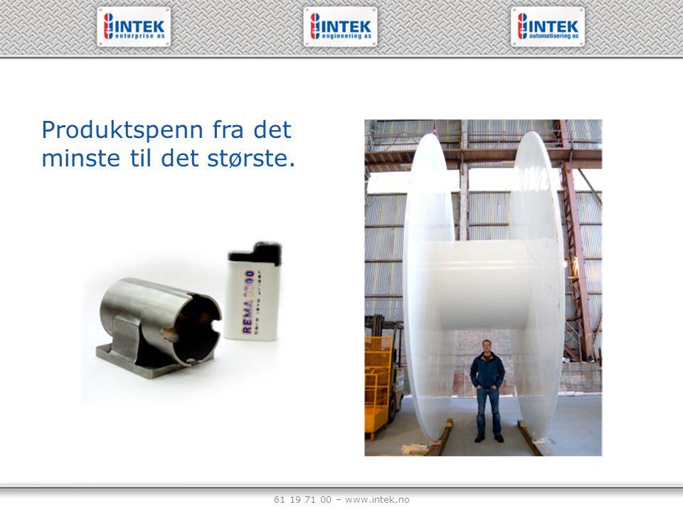 61 19 71 00 – www.intek.no