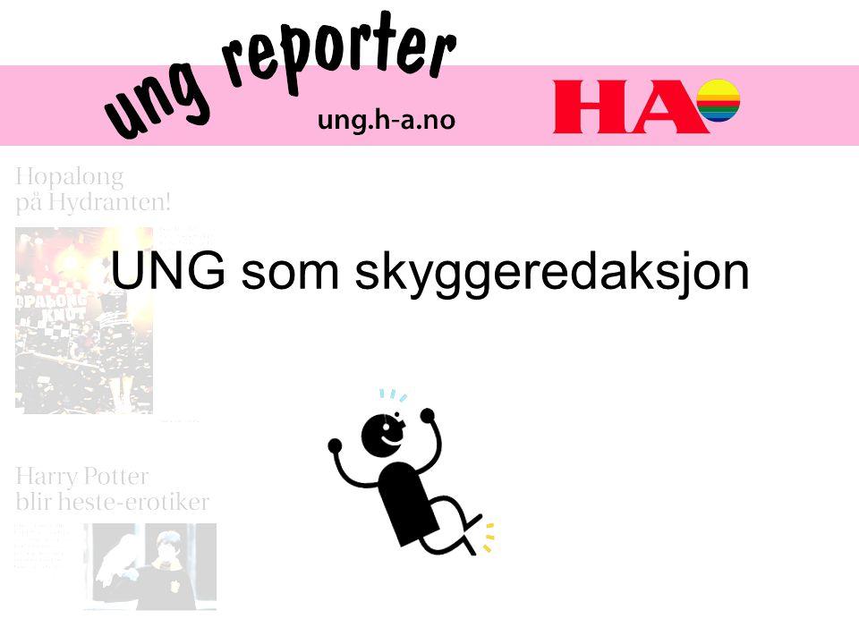Anne Lene Blystad.Jeg er koordinator for UNG-reporter redaksjonen i Hamar Arbeiderblad.