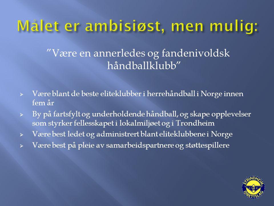 Strindheim IL Håndball Elite - annerledes og fandenivoldsk.