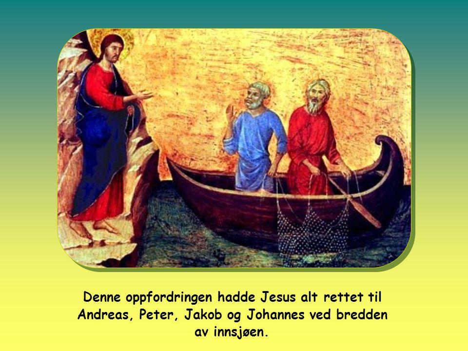 Og Paulus fikk den samme invitasjonen med en litt annen ordlyd på vei til Damaskus.