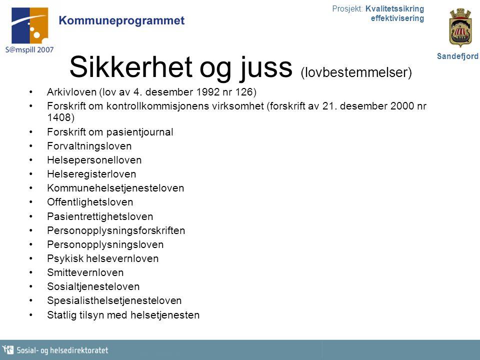Prosjekt: Kvalitetssikring effektivisering Sandefjord Framdrift 2006 Ansette stipendiat knyttet til evaluering og utarbeide evalueringsplan i samarbeid med denne.