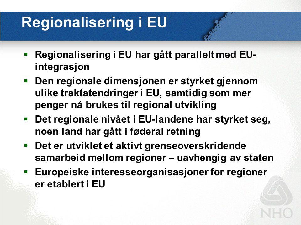 Hvorfor er det behov for regioner.